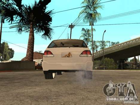 Lexus RX 300 para GTA San Andreas esquerda vista