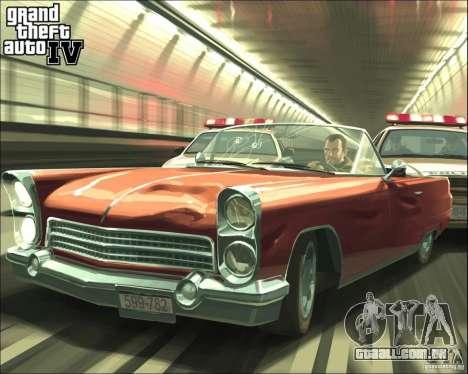 Imagens de inicialização no estilo do GTA IV para GTA San Andreas sexta tela