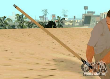 Nova sinalização para GTA San Andreas terceira tela