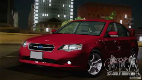 Subaru Legacy 2004 v1.0 para GTA San Andreas esquerda vista
