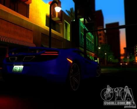 Real World ENBSeries v2.0 para GTA San Andreas por diante tela