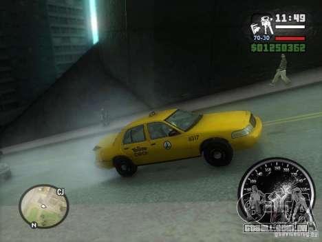 Chuva congelada para GTA San Andreas segunda tela