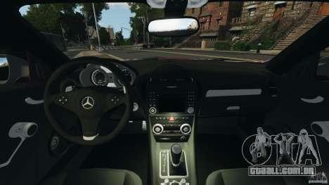 Mercedes-Benz SLK 55 AMG 2010 para GTA 4 vista de volta