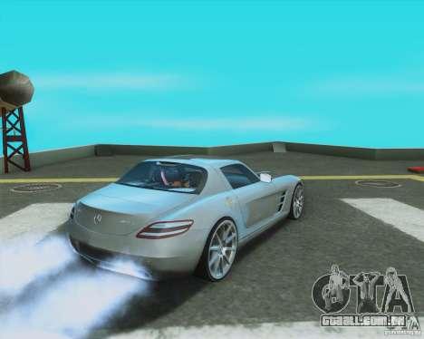 Mercedes-Benz SLS AMG 2010 v.1.0 para GTA San Andreas esquerda vista