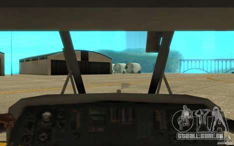 UH-80 para vista lateral GTA San Andreas