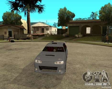 MCC VAZ 2115 para GTA San Andreas vista traseira