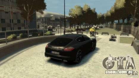 PORSCHE Panamera Turbo para GTA 4 vista direita