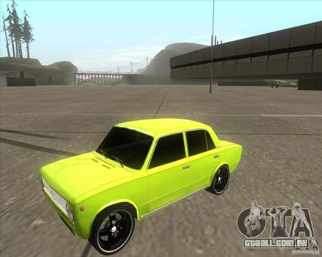 2101 VAZ versão tuning de carro para GTA San Andreas