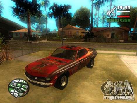 Lâmina de FlatOut para GTA San Andreas