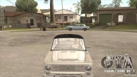 VAZ 2101 Dag para GTA San Andreas traseira esquerda vista