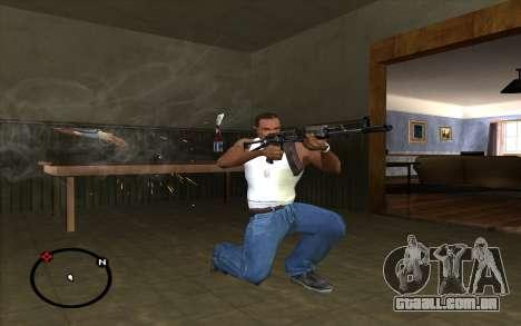 AKS-74 para GTA San Andreas terceira tela