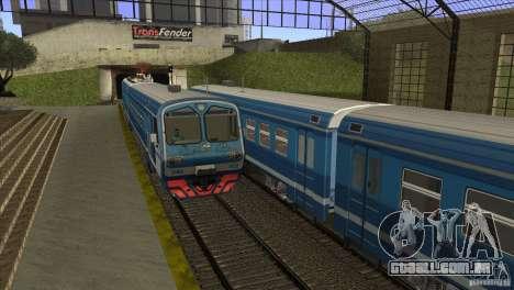 Um novo algoritmo de trem 5 para GTA San Andreas