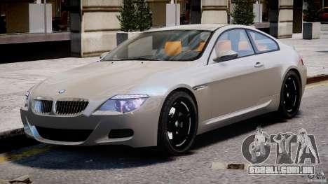 BMW M6 G-Power Hurricane para GTA 4 esquerda vista