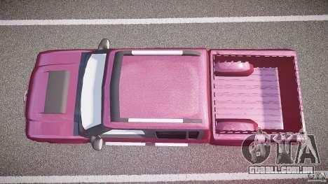 Chevrolet S10 para GTA 4 vista direita
