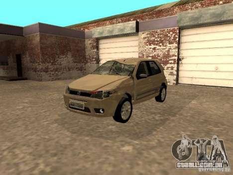 Fiat Palio 1.8R para GTA San Andreas vista interior