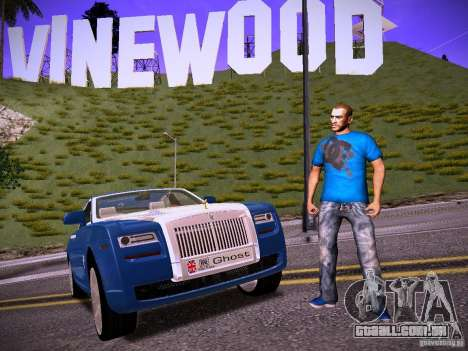 Niko Bellic Reload Beta 0.1 para GTA San Andreas por diante tela