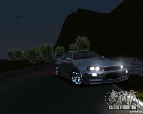 Rocky Drift Island para GTA 4 por diante tela
