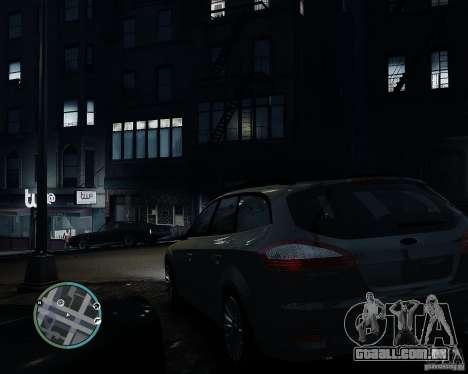 Ford Mondeo Mk4 para GTA 4 esquerda vista