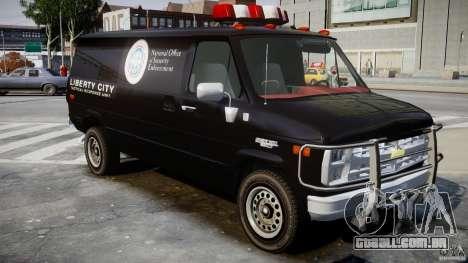 Chevrolet G20 Van V1.1 para GTA 4 vista direita
