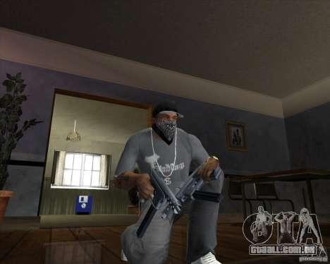 Tec 9 (HQ) para GTA San Andreas segunda tela