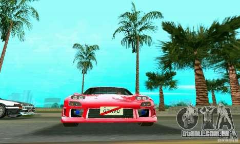 Mazda RX7 Charge-Speed para GTA Vice City vista direita