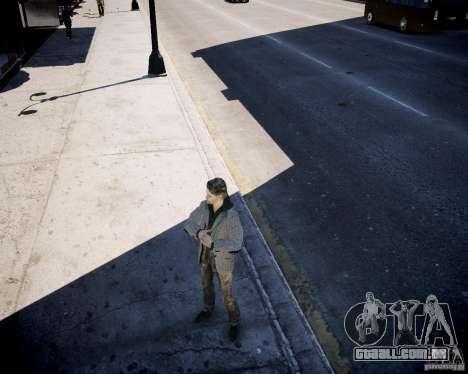 Alan Wake para GTA 4 por diante tela