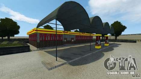Dakota Raceway [HD] Retexture para GTA 4 por diante tela