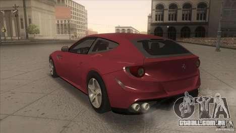Ferrari FF 2011 V1.0 para GTA San Andreas vista direita