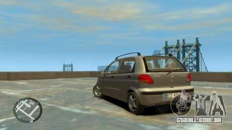 Daewoo Matiz Style 2000 para GTA 4 esquerda vista