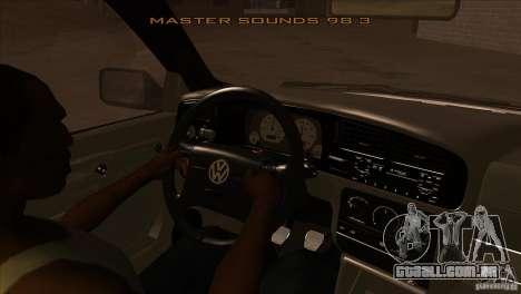 Volkswagen Golf MK3 VR6 para GTA San Andreas vista interior