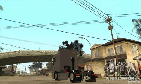 DAF XF para GTA San Andreas vista direita