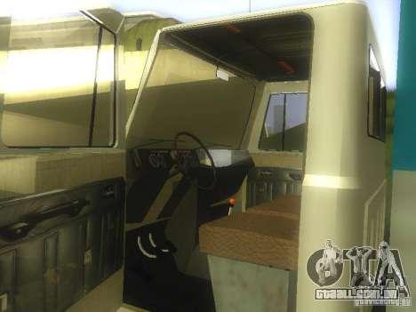 GAZ 3307 para GTA San Andreas traseira esquerda vista