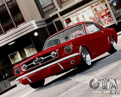 Ford Mustang GT MkI 1965 para GTA 4 esquerda vista