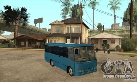 Bogdan A0921 turística para GTA San Andreas vista traseira