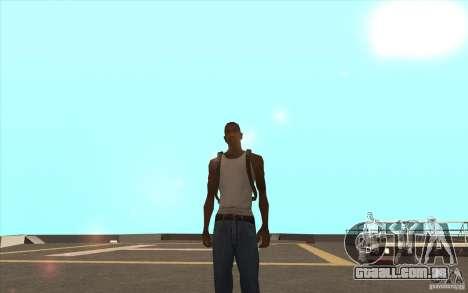 Pára-quedas para GTA San Andreas terceira tela