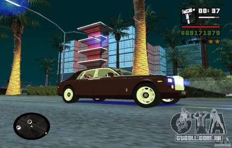 New Effects [HQ] para GTA San Andreas por diante tela