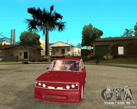 Senhor VAZ 2106 para GTA San Andreas vista traseira