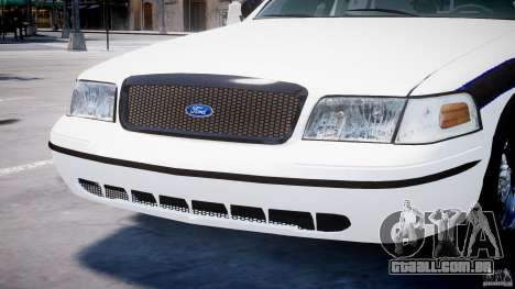 Ford Crown Victoria 2003 FBI Police V2.0 [ELS] para GTA 4 rodas