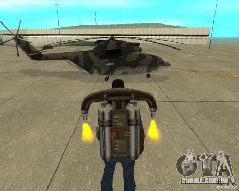 MI-26 para GTA San Andreas vista direita