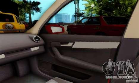 Audi A3 Sportback 3.2 Quattro para GTA San Andreas vista traseira