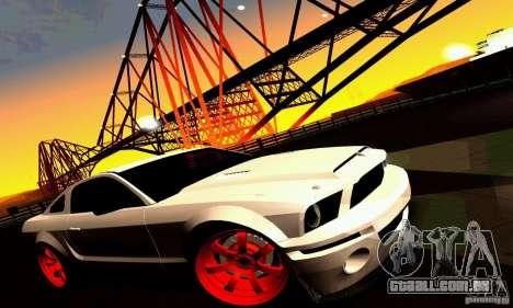 Shelby GT500 KR para as rodas de GTA San Andreas