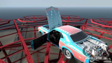 Afterburner Flatout UC para GTA 4 vista inferior