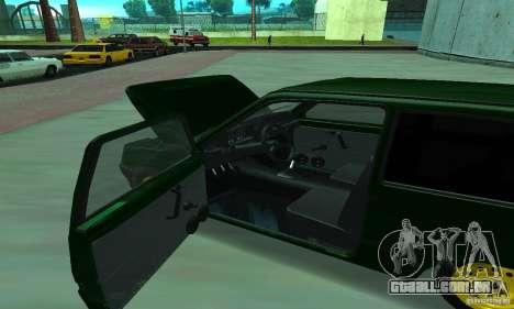VAZ 1111 Oka para GTA San Andreas vista traseira
