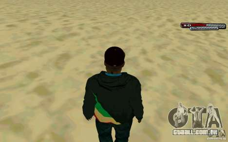 Drug Dealer HD Skin para GTA San Andreas por diante tela