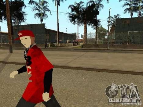 JabbaWockeeZ Skin para GTA San Andreas por diante tela