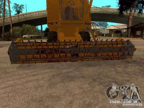 Holland TX 34 C para vista lateral GTA San Andreas