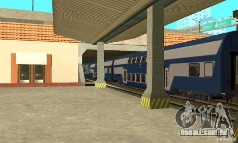Vagon CFR classe Beem 26-16 para GTA San Andreas traseira esquerda vista