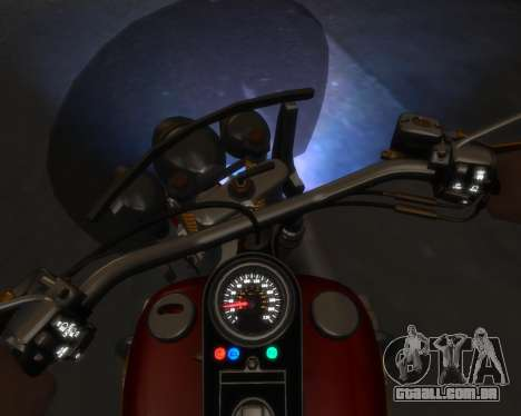 Harley-Davidson Fat Boy Lo (Vintage final) para GTA 4 esquerda vista