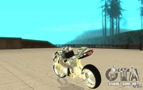 New NRG Chrome version para GTA San Andreas traseira esquerda vista