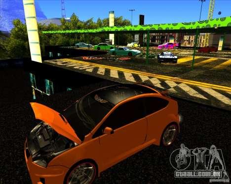 Ford Focus ST Racing Edition para GTA San Andreas vista direita